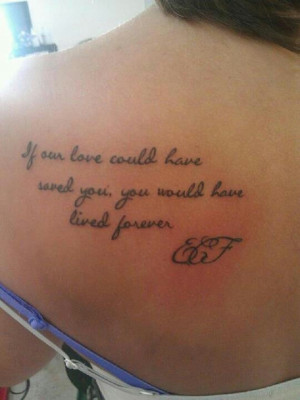 memorial tattoo I love this saying. I would get this in memory of my ...