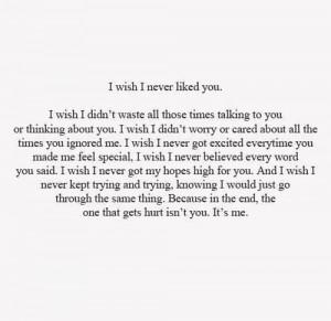you heart i want you i hate you never love quotes i wish i like you ...