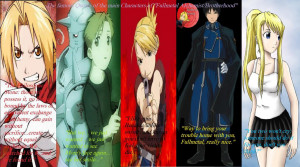 The famous Quotes from 'Fullmetal Alchemist' Saga by AnimeXGhost13