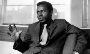 Chinua Achebe in 1967.Photo courtesy UK Guardian