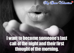 My Dear Valentine Loving Romantic Quotes for Couples