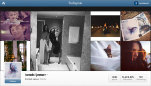 Kendall Jenner_Instagram Page