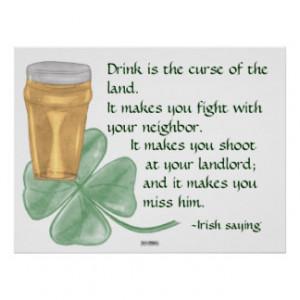 Irish Sayings Posters