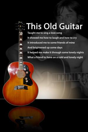 the guitar poem