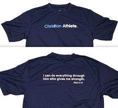 Christian Athlete T-shirt More