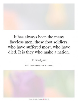 Sionil Jose Quotes | F Sionil Jose Sayings | F Sionil Jose Picture ...