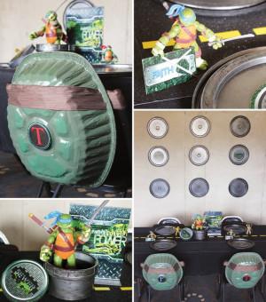 Trend Alert: {Incredibly Creative!} Teenage Mutant Ninja Turtles Party ...