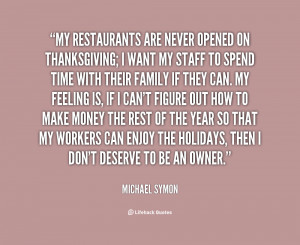 Quotes for Restaurants