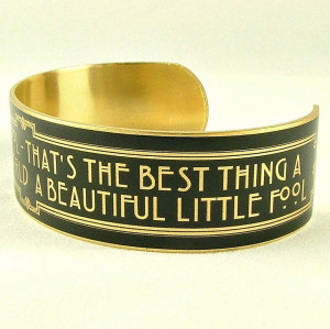 The Great Gatsby - Beautiful Little Fool - Slim Cuff - product images ...