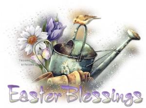 Nice Easter blessings