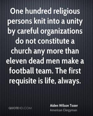 Aiden Wilson Tozer Men Quotes