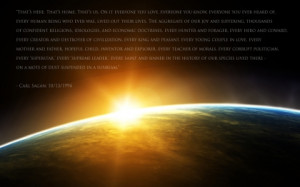 outer space quotes earth humanity carl sagan 1680x1050 wallpaper Art ...