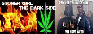 STONER GIRL Profile Facebook Covers