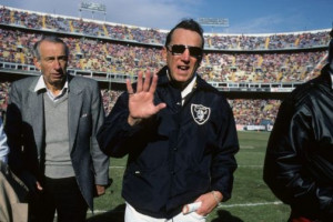 """Raiders owner Al Davis is most known for his famous quote """"Just win ..."""
