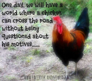Chicken quote via www.Facebook.com/AndNowLaugh