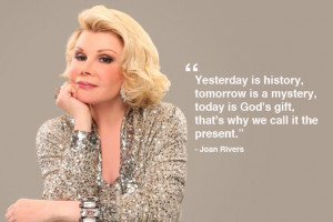 20 things Joan Rivers shared with the world that made us all love her ...