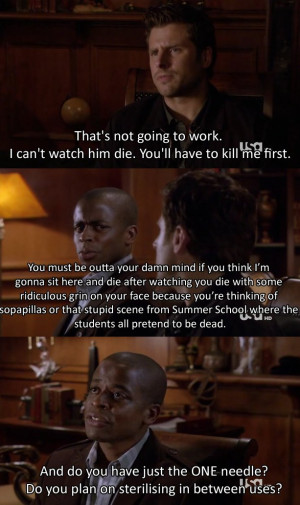 Funny Psych Quotes Psych :d don't if i love shawn