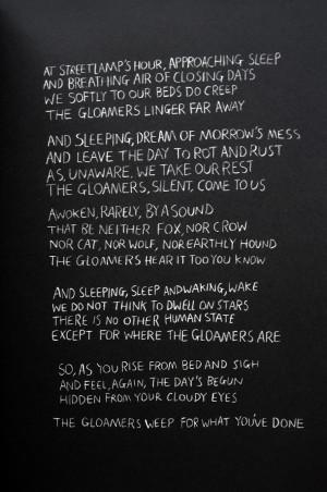ART | Keaton Henson, 'Gloaming'