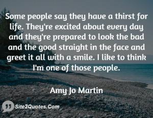 Smile Quotes - Amy Jo Martin