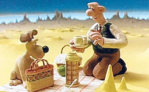 Wallace and Gromit in a Grand Day Out