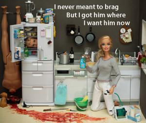 barbie, dead, devil, funny, gross, ken, killer, miniatures, nice ...