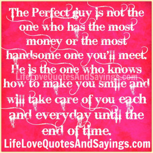 ... Guy Is Not The One Who Has The Most Handsome One You'll Meet ~ Love