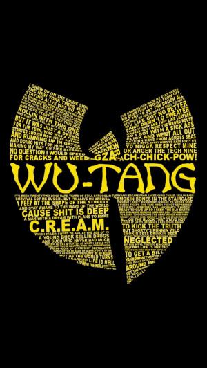 Wu tang logo wallpaper iphone