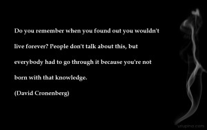 Pessimistic despondent quote