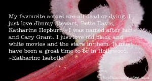 Katharine Isabelle quotes: top famous quotes and sayings from ...