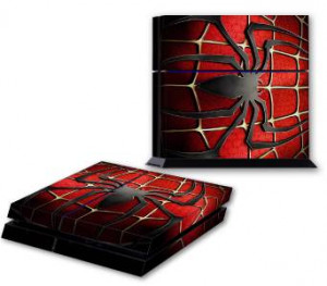 SPIDERMAN LOGO PS4 Skin Vinyl Decal PlayStation 4 Console Designer ...