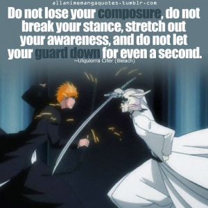 Bleach Inspirational Quotes