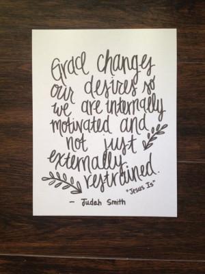 Grace Jesus Is quote // Handwritten Print by ScriptedScripture, $10.00