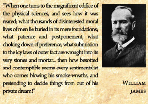 William James on Science