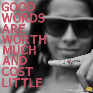 George Herbert Quote – 4 Ways Words of Encouragement are Seeds of ...