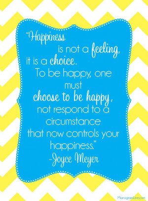 """... now controls your happiness."""" -Joyce Meyer #Inspirational #Quotes"""