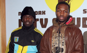 Michael K. Williams and Jamie Hector of The Wire