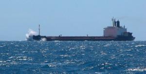 Rough seas in the Drake passage