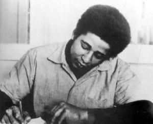 George Jackson in San Quentin prison