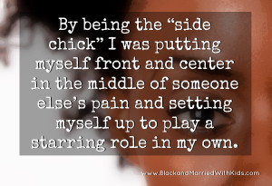 Quote About Being Side Chick