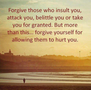 Forgive If Someone Insult you