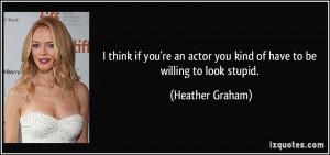 More Heather Graham Quotes