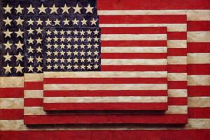 Three Flags, 1958 by Jasper Johns