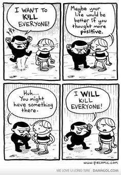 the power of positive thought More