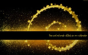 ... quotes keep quiet motivational peaceful philosophy quotes space spiral