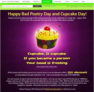 cupcake poem