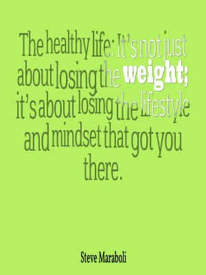 They say to get skinny is 70 percent diet and 30 % exercise, but that ...