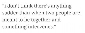 Two people are meant to be together