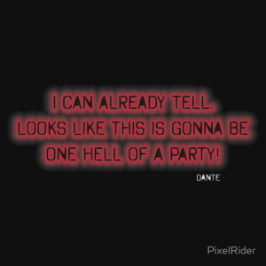 PixelRider › Portfolio › Devil May Cry 3 Dante Quote T Shirt