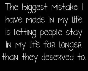 The biggest mistake...