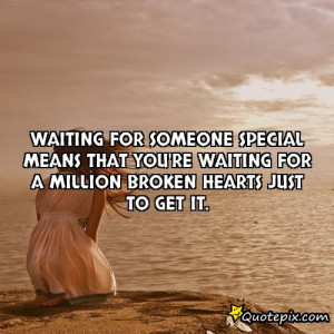 waiting to meet someone special quotes images